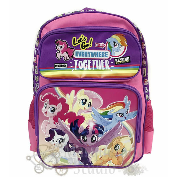 Let's Go Everywhere Together MLP Backpack