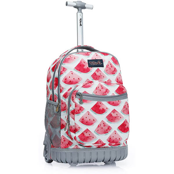 Watermelon Kids Rolling Backpack