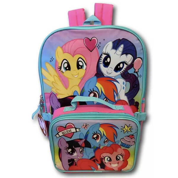 My Little Pony Backpack and Lunchbox
