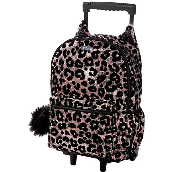 Cheetah Kids Rolling Backpack