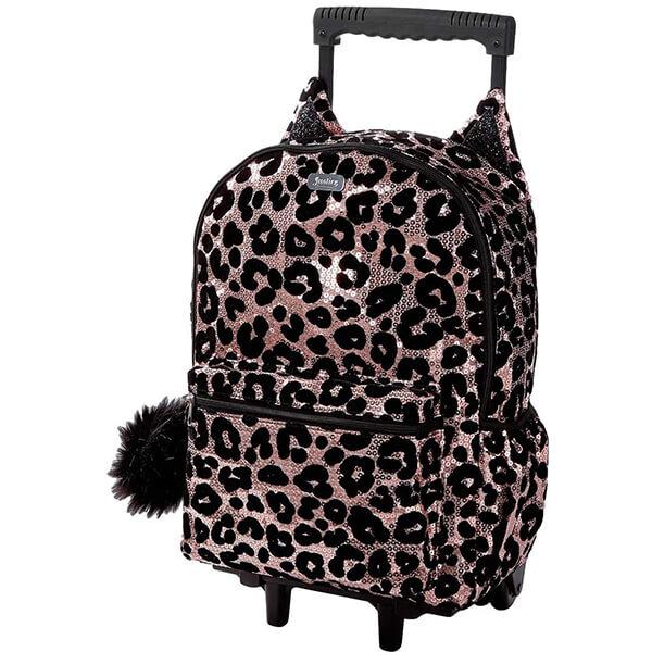 Cheetah Kids Rolling Backpack