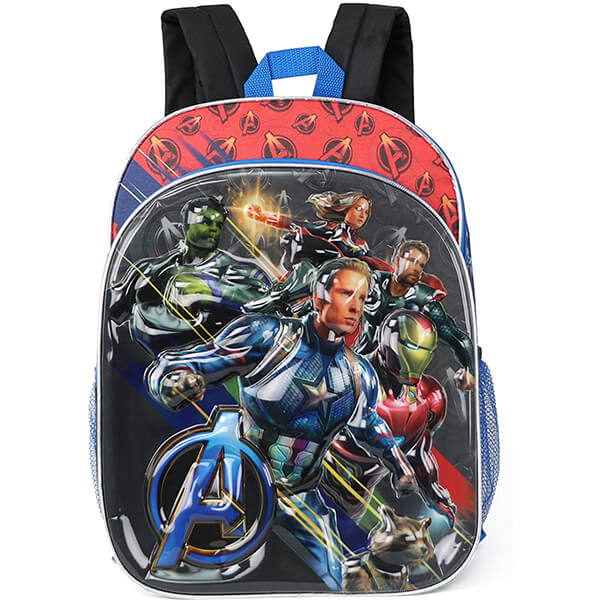 Superhero 3D Avengers Endgame Backpack