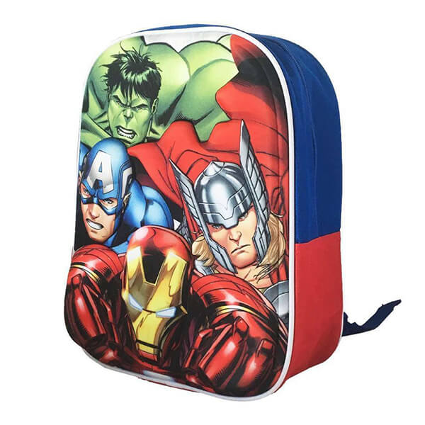 Hulk Marvel Avengers Book Bag
