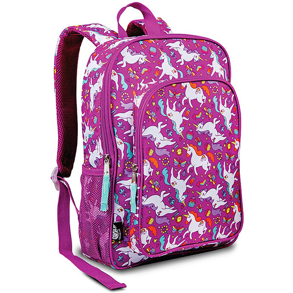 Multi-color Hair & Tail Unicorn Backpack