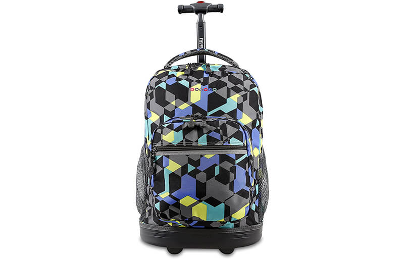 kids rolling backpack cover