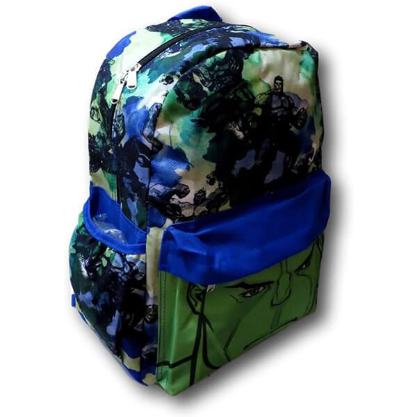 All-over print Boys Incredible Hulk Backpack