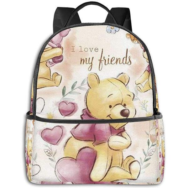 Love My Friends Winnie the Pooh Book Bag