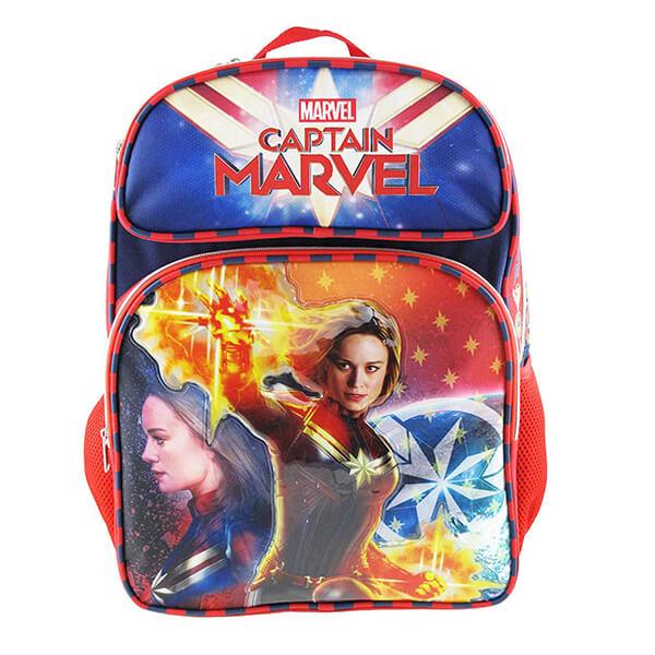 Superhero Girl Captain Marvel Backpack
