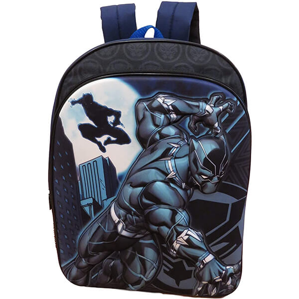 Cool 3D Black Panther Backpack for Grade Schoolers