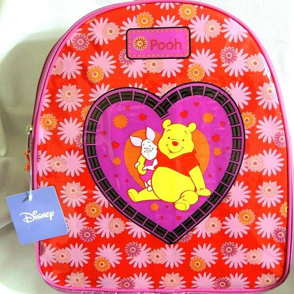 Floral Love Winnie the Pooh Book Bag
