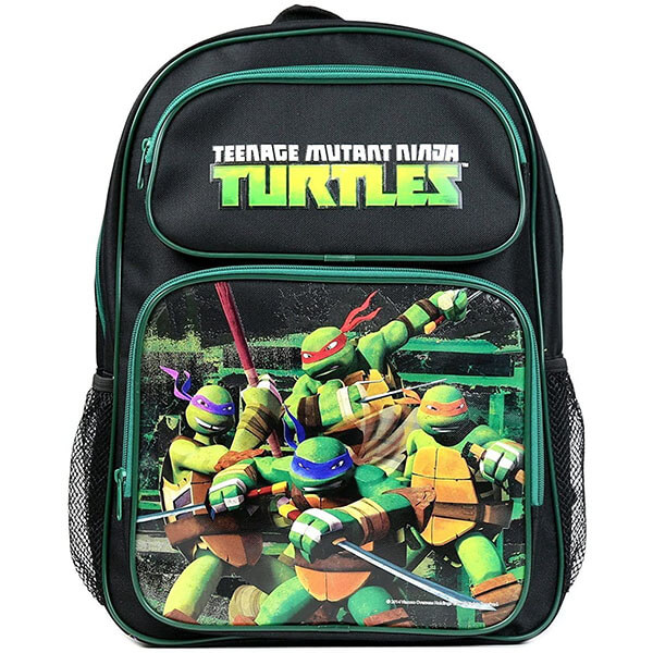 Gorgeous Black Disney Ninja Turtle Backpack