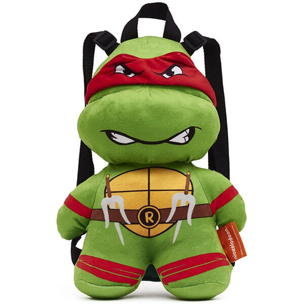 Raphael Teenage Mutant Ninja Turtles Plush Backpack