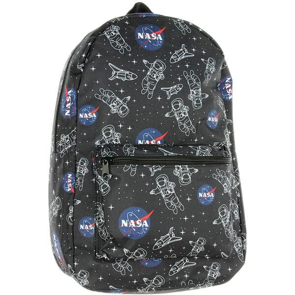 Astronaut Space Shuttle Polyester NASA Bookbag