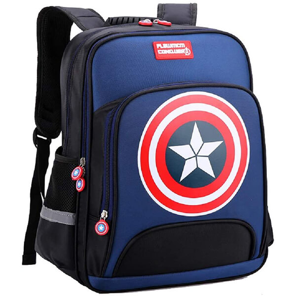 Royal Shield Captain America Backpack