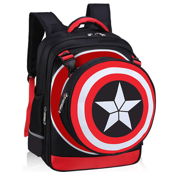 Dark Blue Captain America backpack