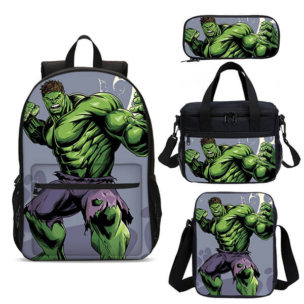 Insulated Hulk Backpack Combo Set with Cross Body Bag
