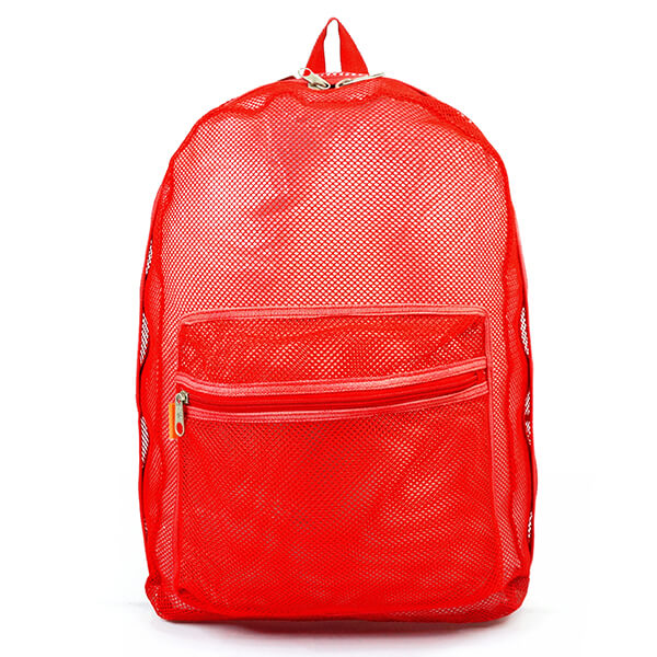 Large See Through Mesh Backpack for Kids