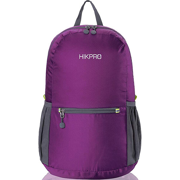 20L Durable Packable Nylon Backpack