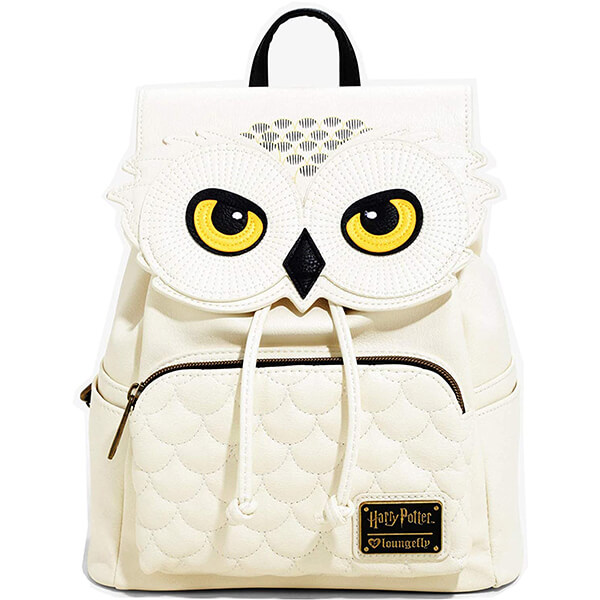 Faux Leather Hedwig Harry Potter Owl Backpack