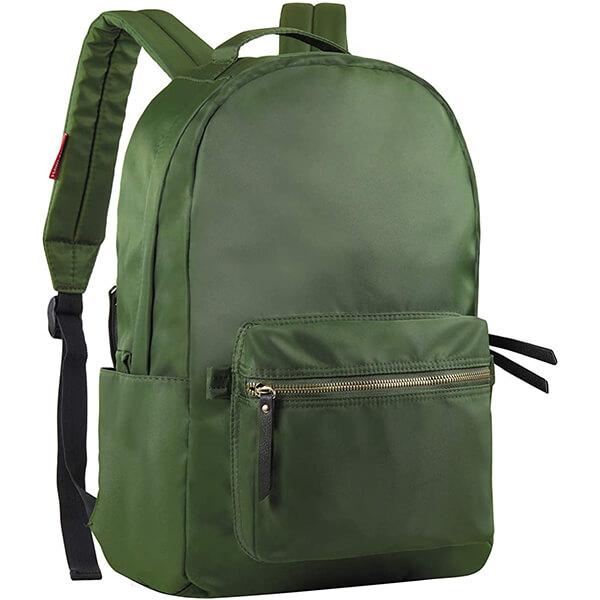 Daily Life Olive Nylon Backpack