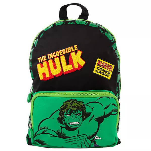Marvel Comic Smashing Incredible Hulk Backpack