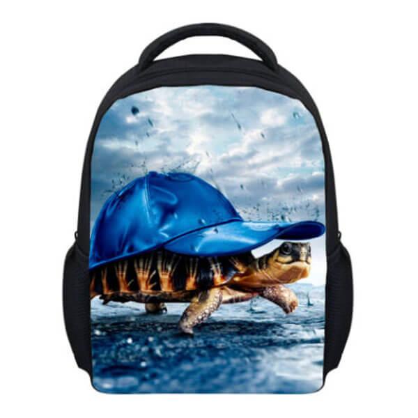 Personalized Animal Mini Sea Turtle Bookbag