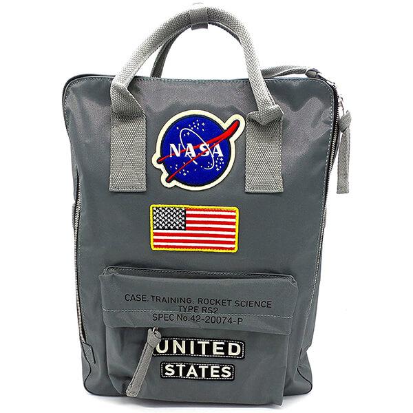 United States Rocket Science Canvas NASA Backpack Handbag