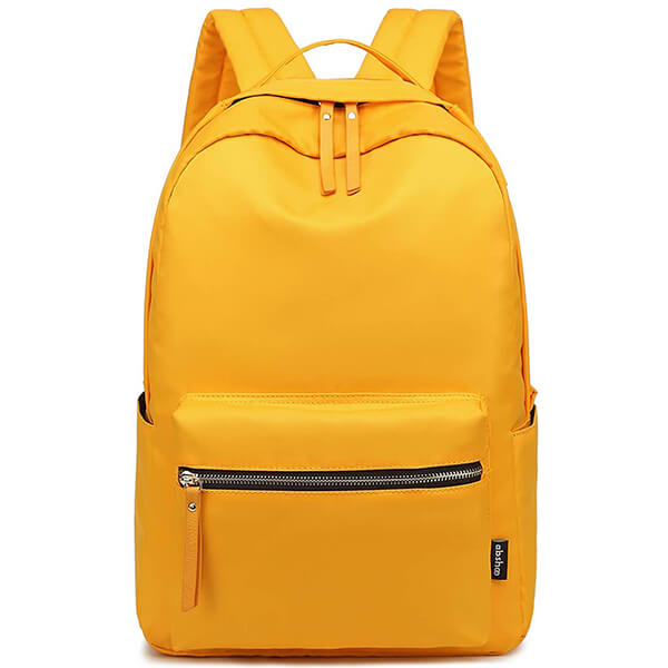 Mango Yellow Conventional Nylon Backpack