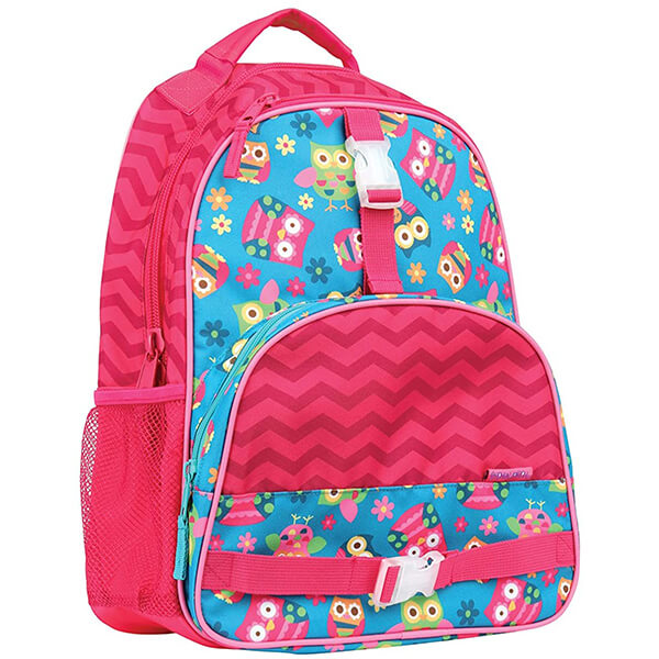 All Over Owl Print Secondary Schoolers Backpack