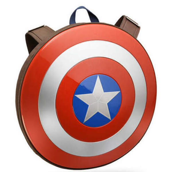 Captain America Shield Cosplay Kids Book Bag