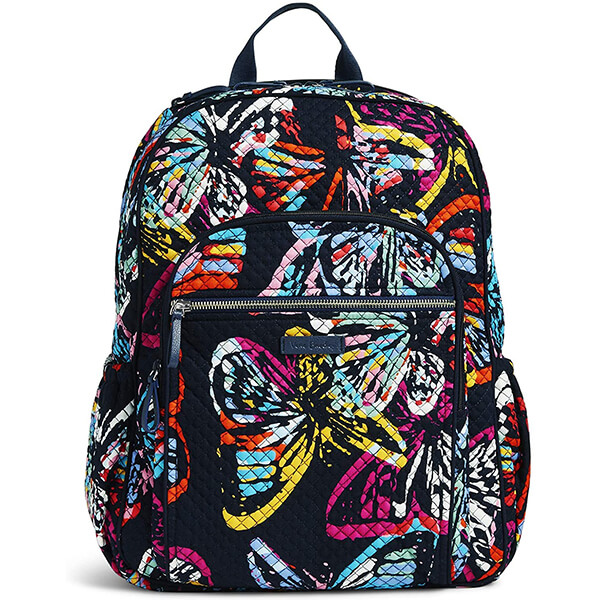 Signature Cotton Lightweight Colorful Butterfly Backpack