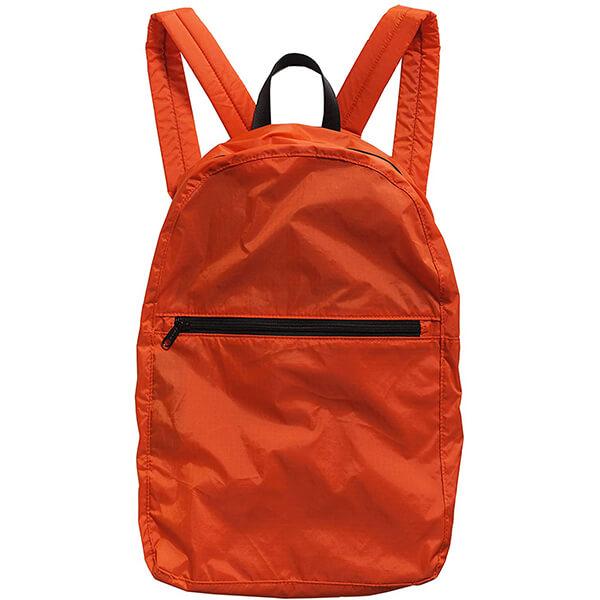 Vibrant Tomato Ripstop Nylon Backpack