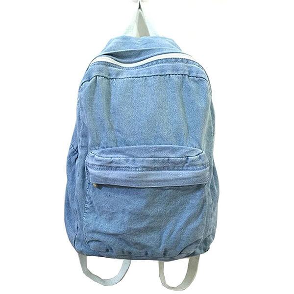 Classic Vintage Jeans Denim Backpack