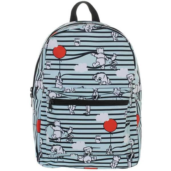 Flying Balloons Pooh Bear Backpack