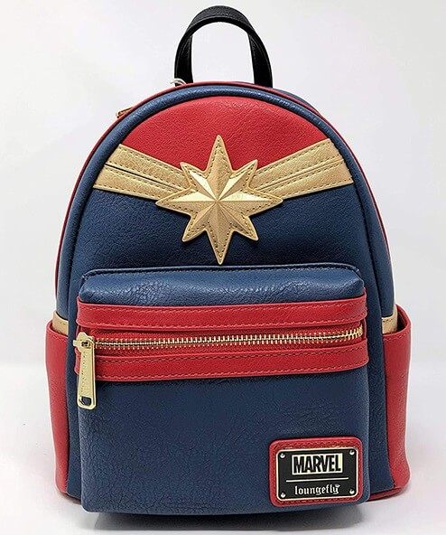 Red Suit Captain Marvel Backpack