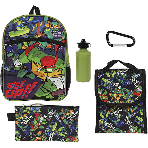 Green Ninja Turtle Back to School Essentials Set