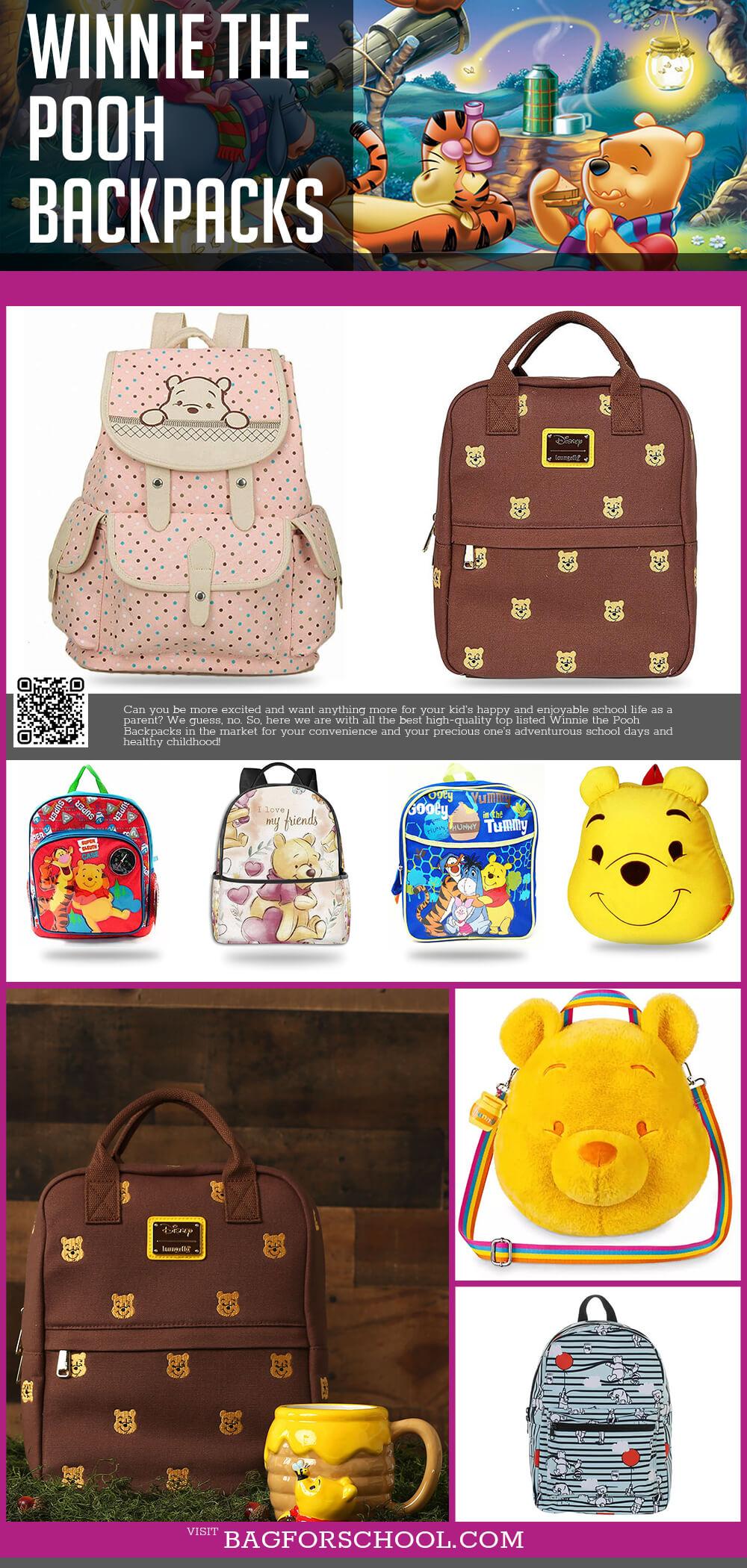 Winnie The Pooh Backpacks