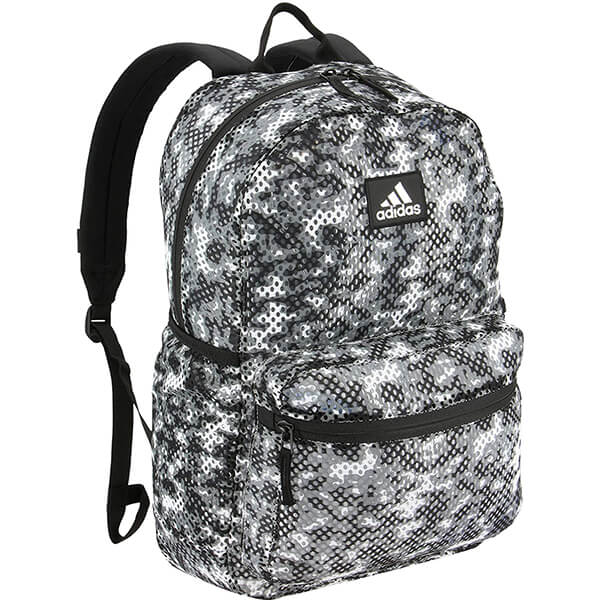 Adidas Flow Blur Grey Hermosa Mesh Clear Backpack