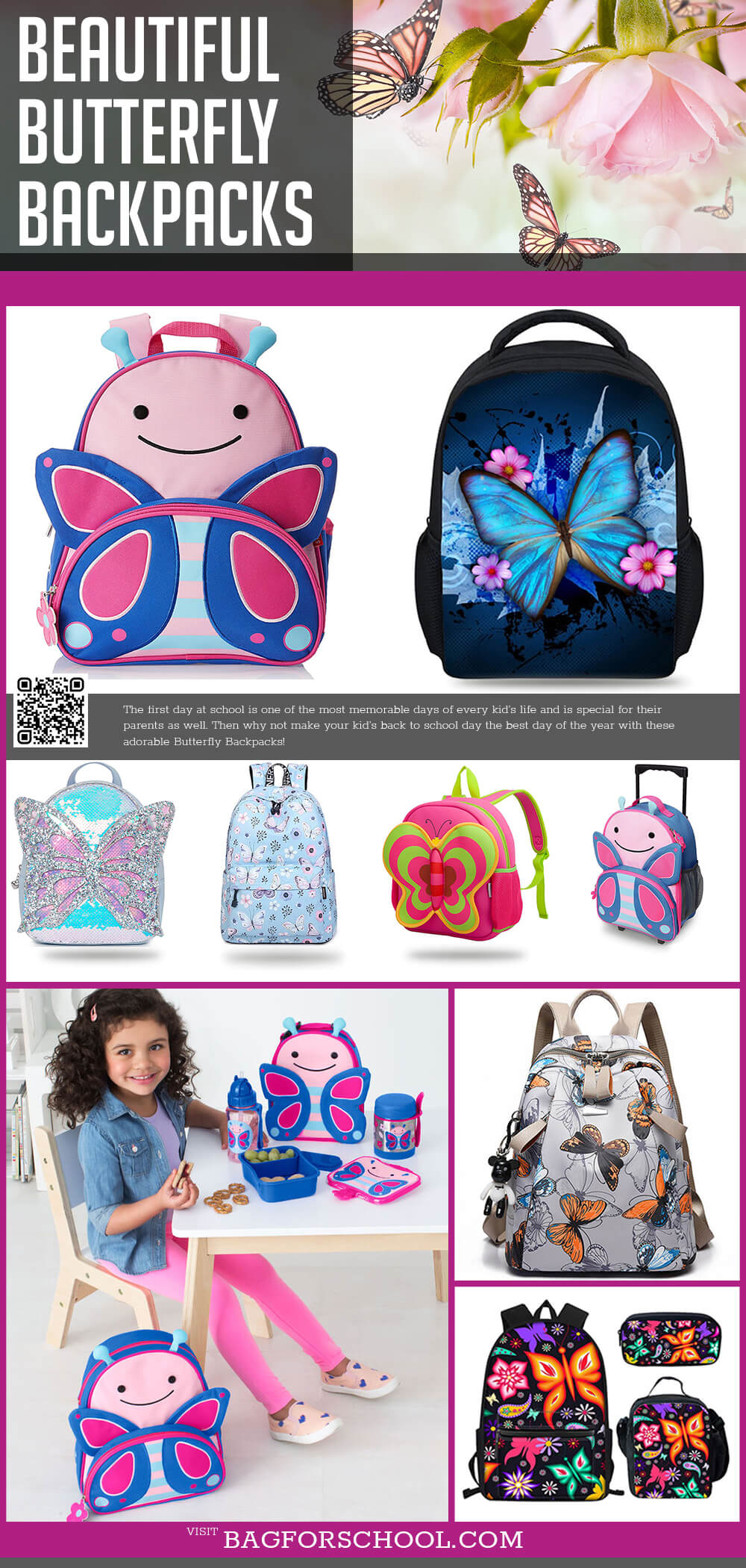Butterfly Backpacks
