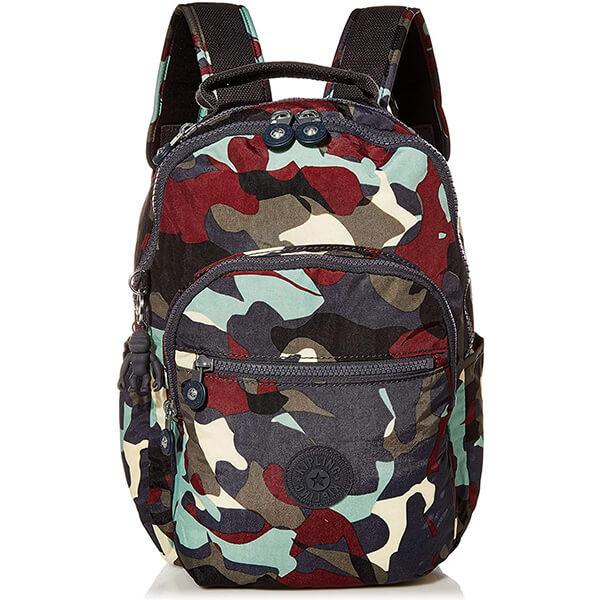 Dark Seoul Camo Nylon Backpack