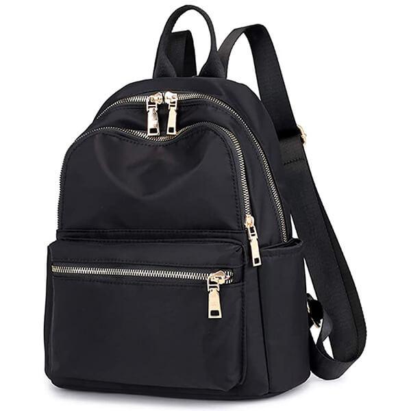 Black Beauty Purse Nylon Backpack