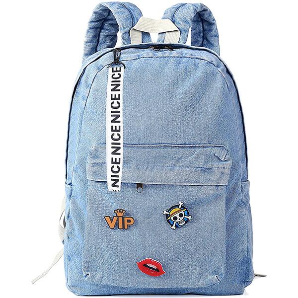 Nice VIP Retro Classic Denim Backpack