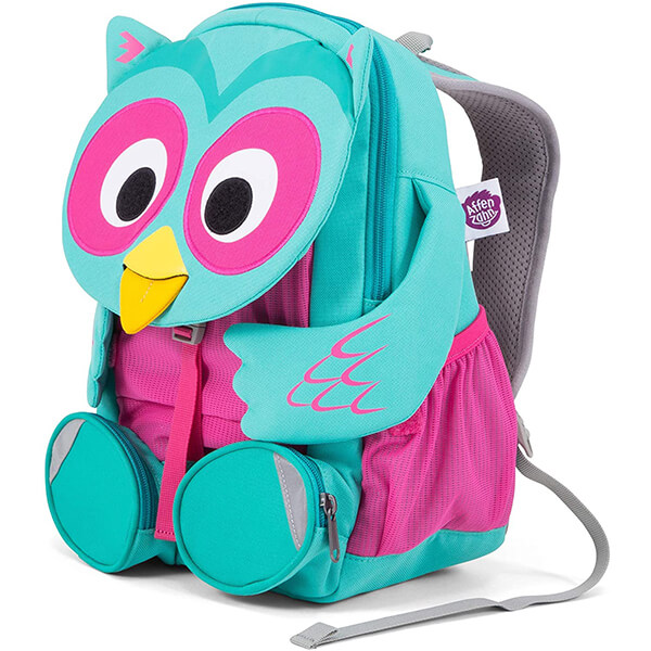 Owl Hug Preschool Backpack for Children Aged 3-7 Years