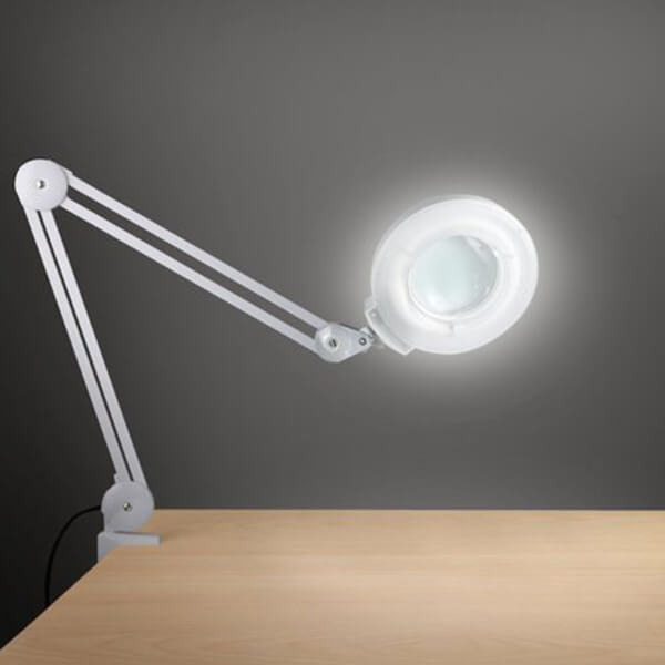 Daylight Clamp Magnifying Lamp