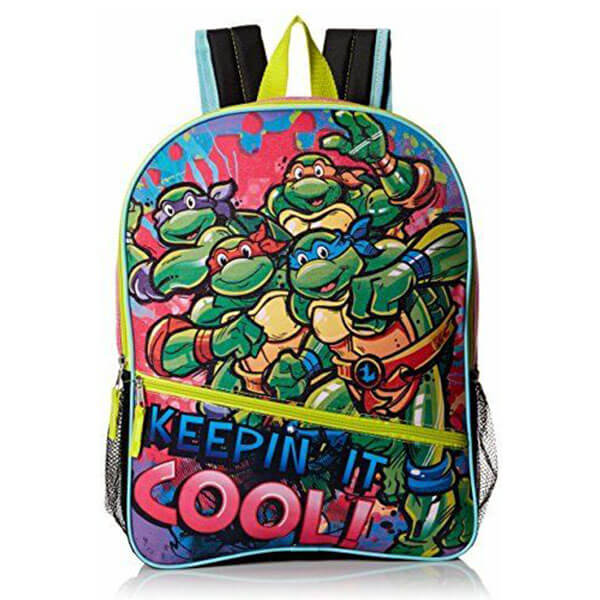 Keepin It Cool Ninja Turtle Backpack