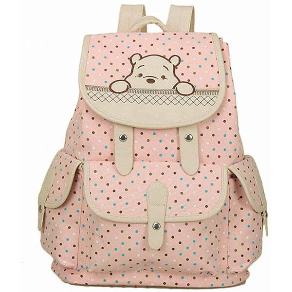 Korean Style Girl's Winnie the Pooh Backpack