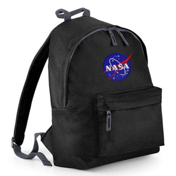Waterproof Polyester Embroidery Logo NASA Backpack