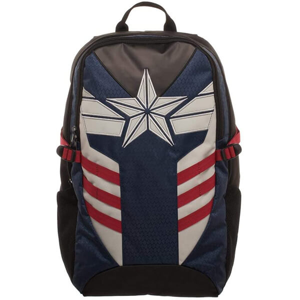 White Star Logo Avengers Captain America Backpack