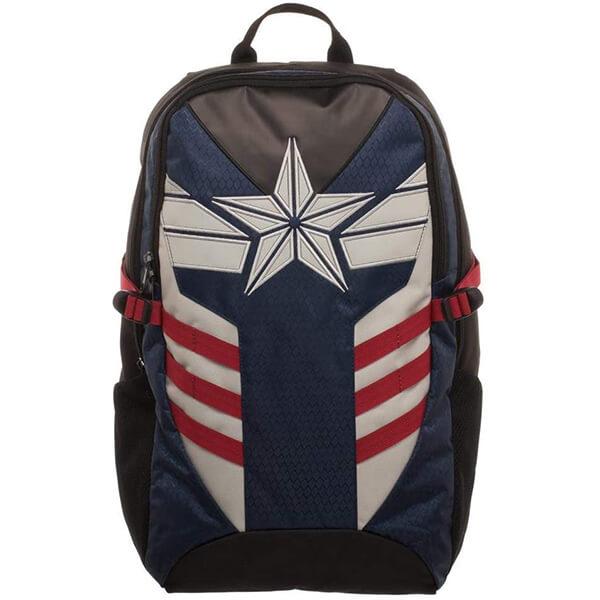 White Star Logo Avengers Captain America Backpack