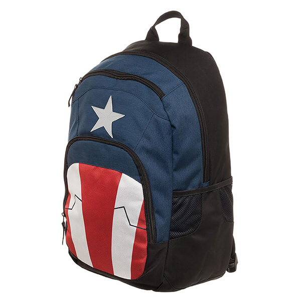 Flag Colored Captain America Backpack